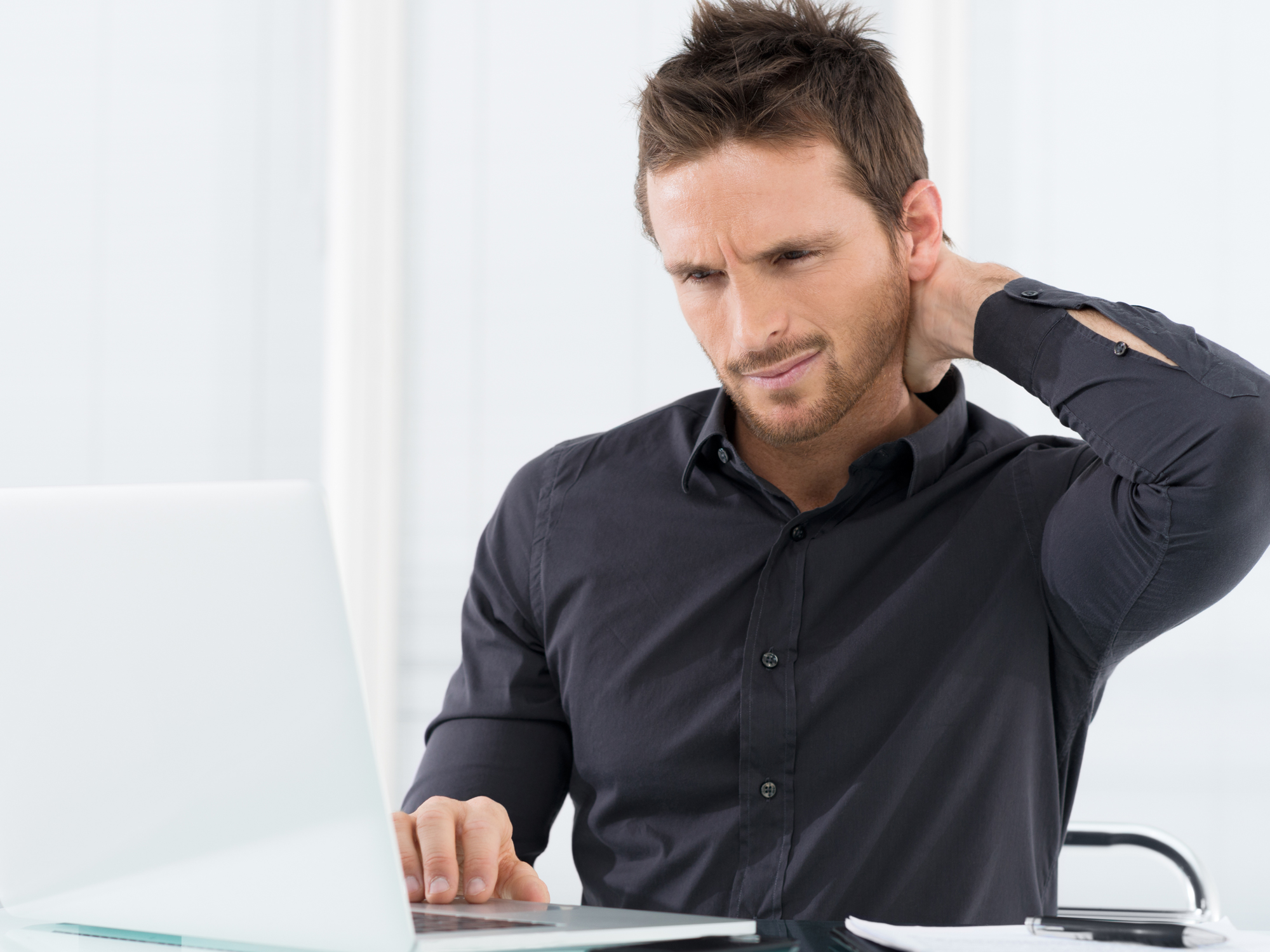 The easy way to get rid of a pain in the neck