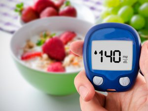 Blood sugar test