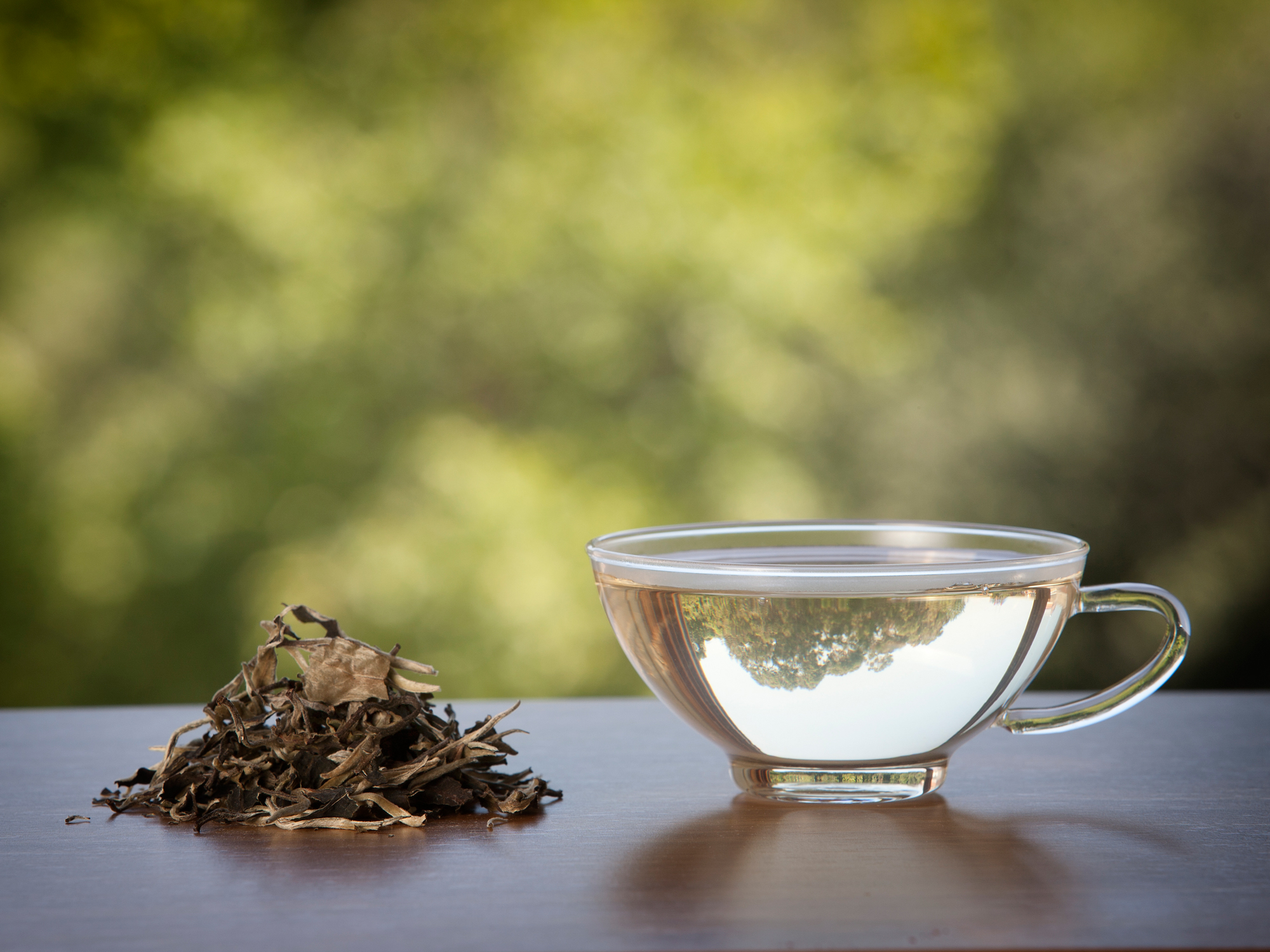 Sip away wrinkles with white tea
