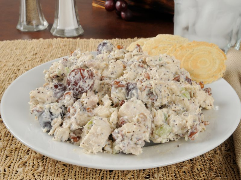 Do You Like Your Chicken Salad Plain Or Fancy By Fancy I Mean With Grapes And Walnuts