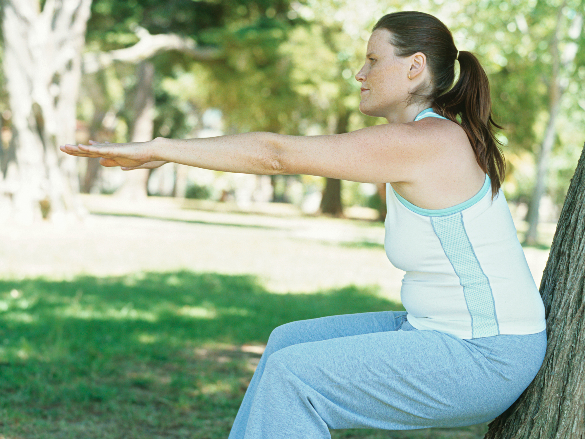 Lose your muffin top without hurting your joints