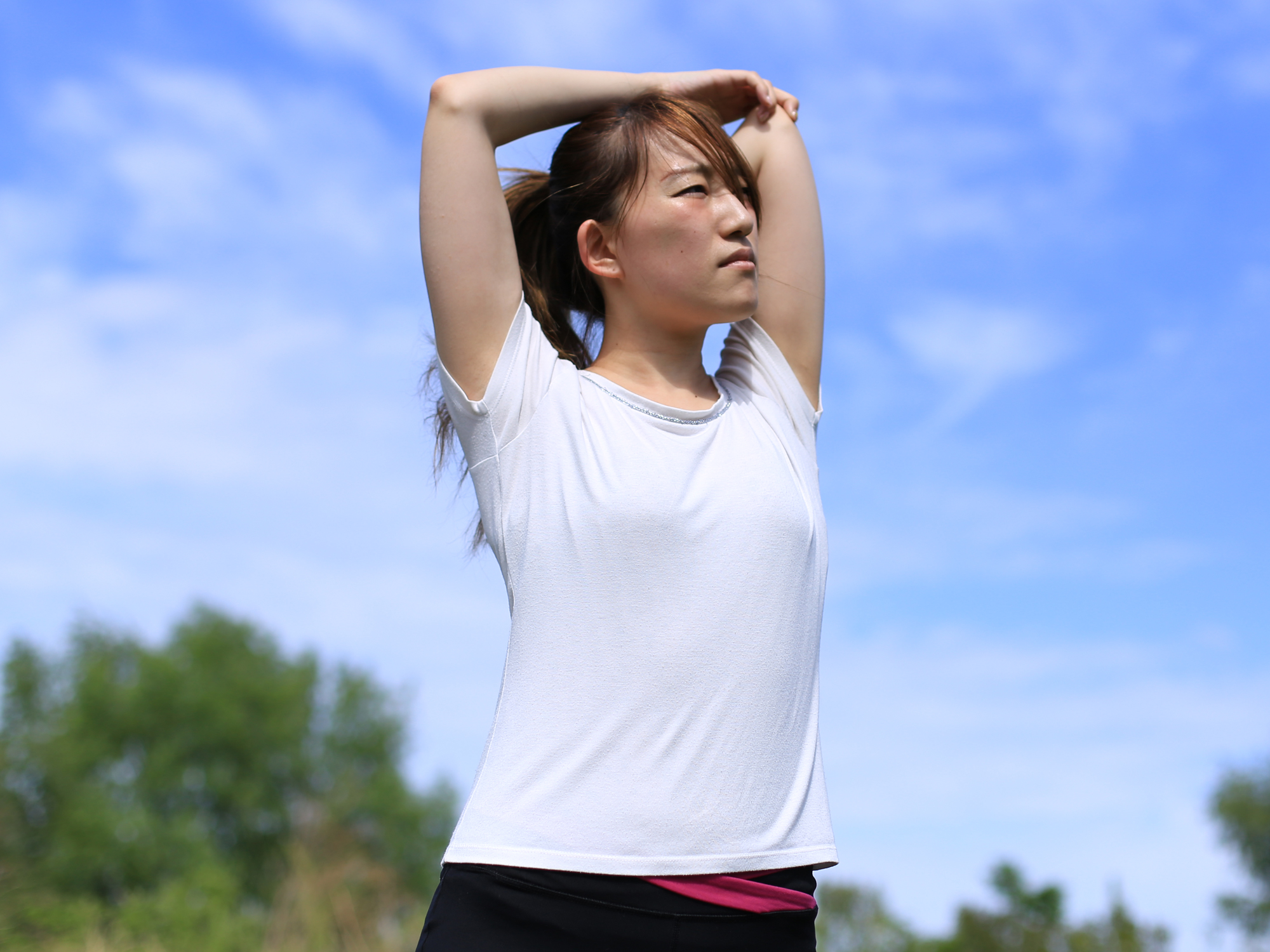 Posture trick for a strong back and tight tummy