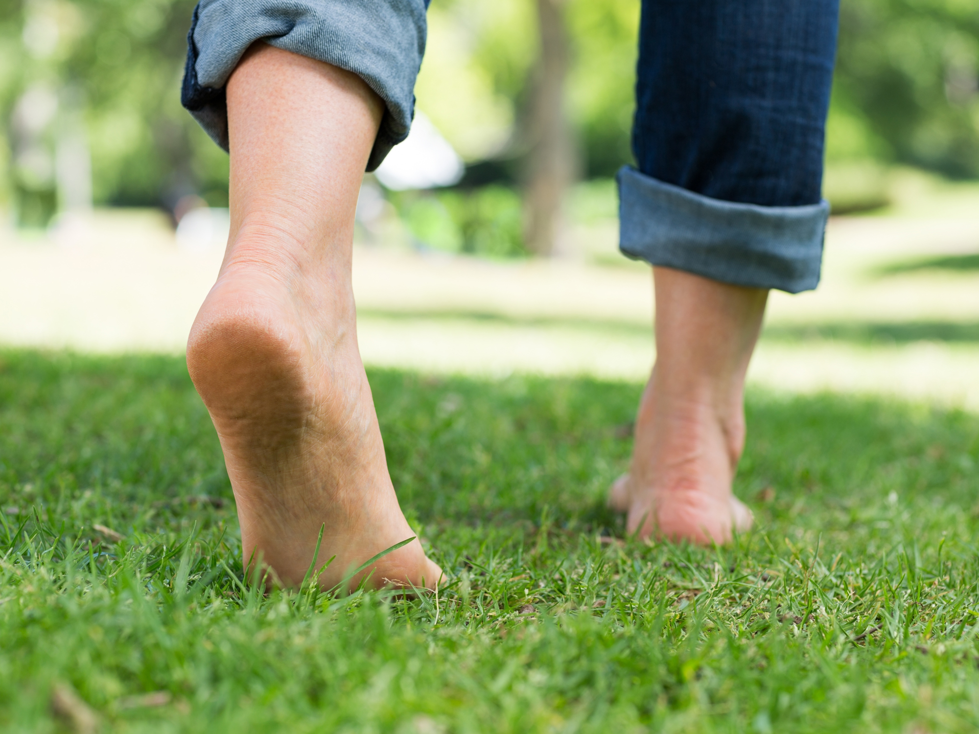 The science of walking barefoot