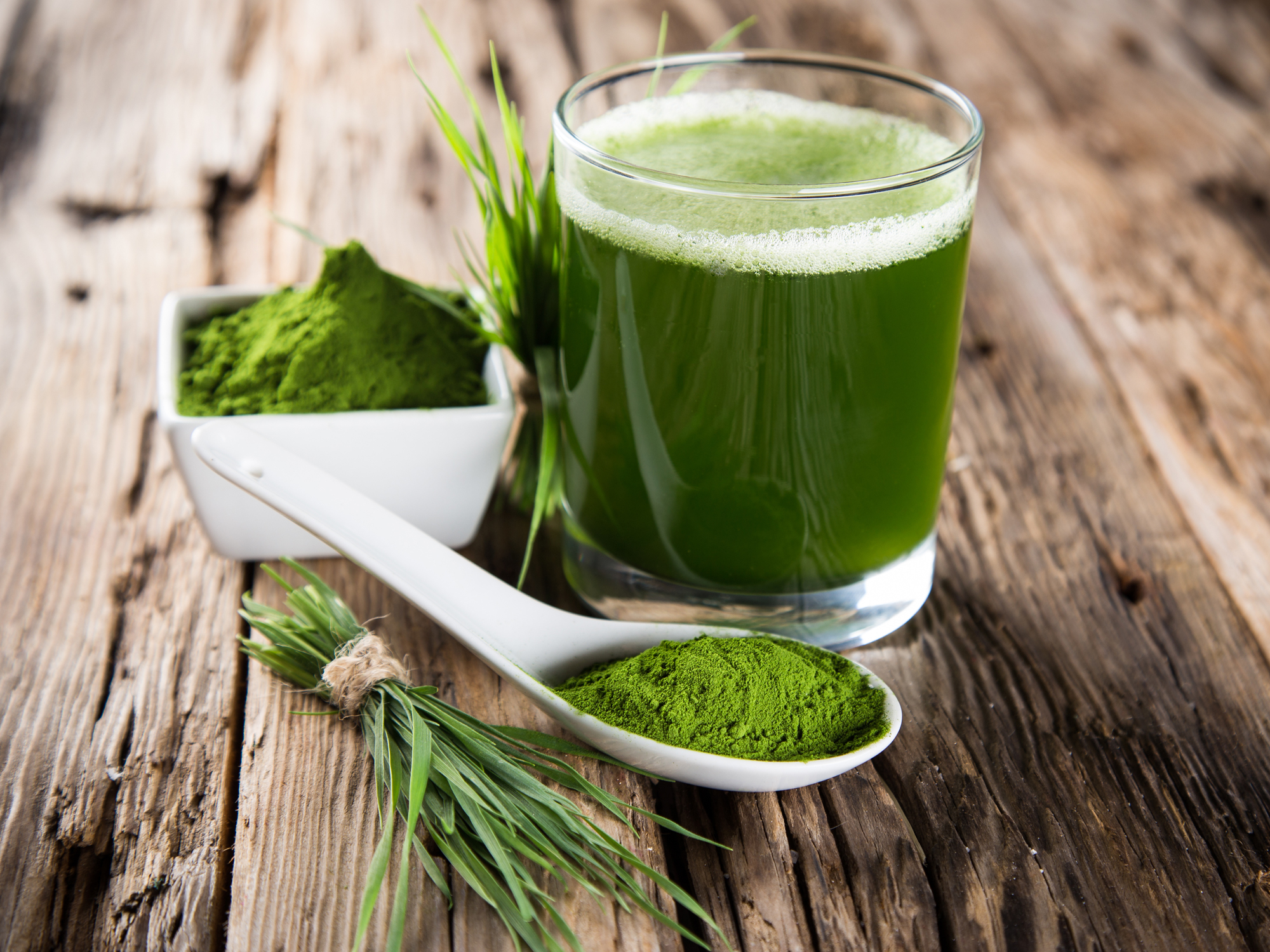 Super detox with this super green superfood