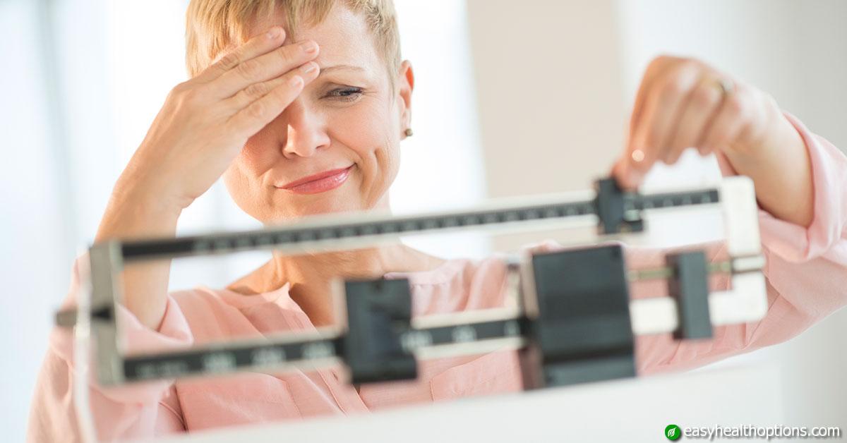menopausal woman weight loss