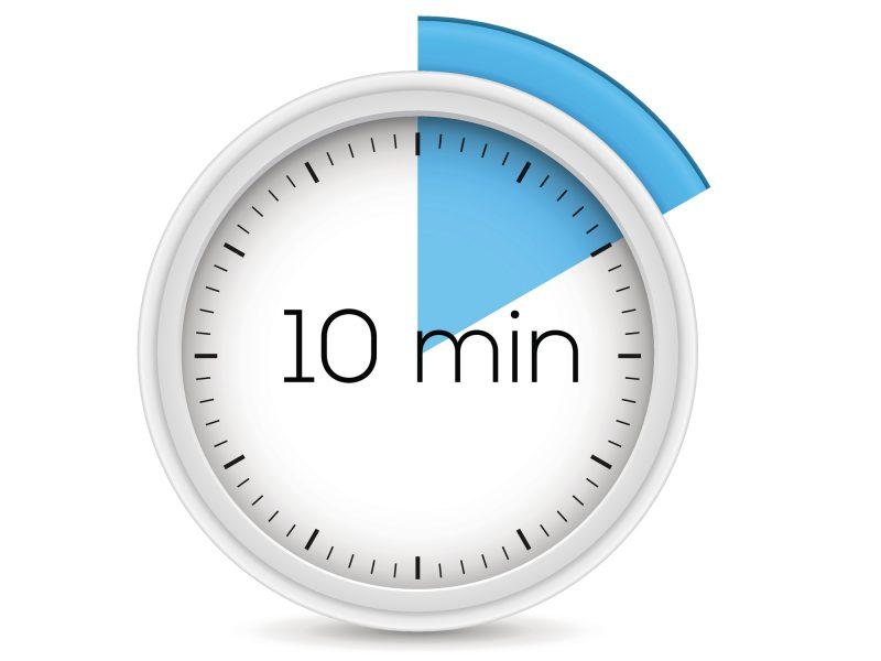 ten minute timer