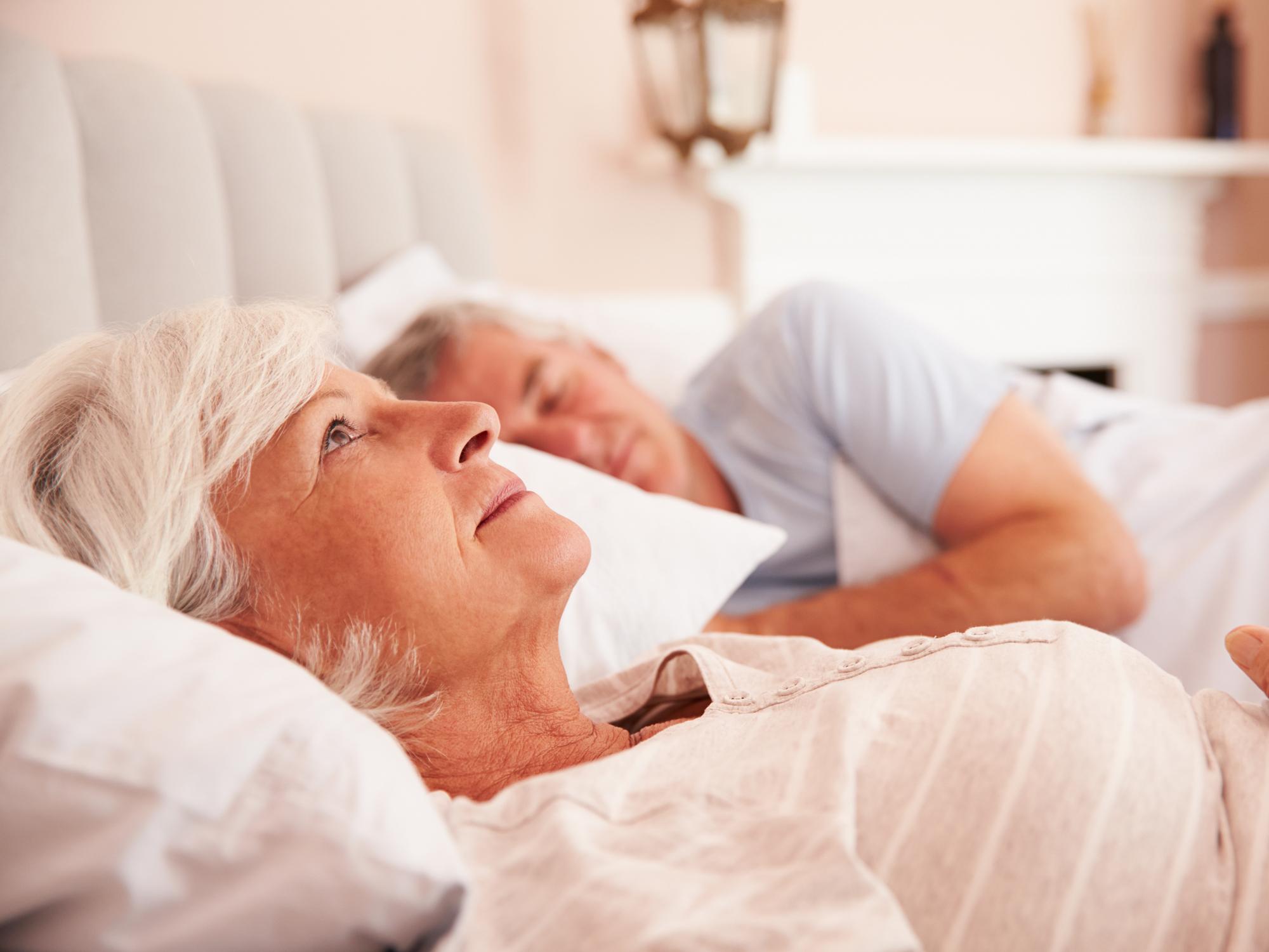 The surprising danger seniors face from sleep loss