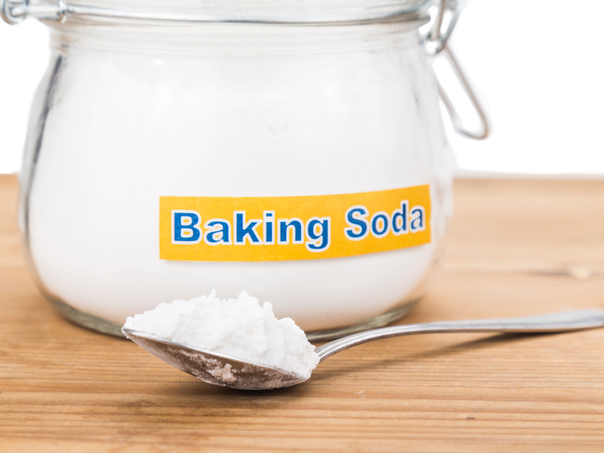 baking soda Baking soda is a must in the laundry room to boost detergent performance, remove odors, soften clothes, clean an iron and control detergent suds.
