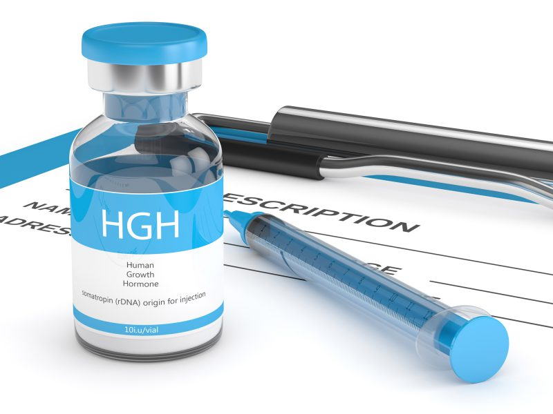 Growth hormone for lean muscle