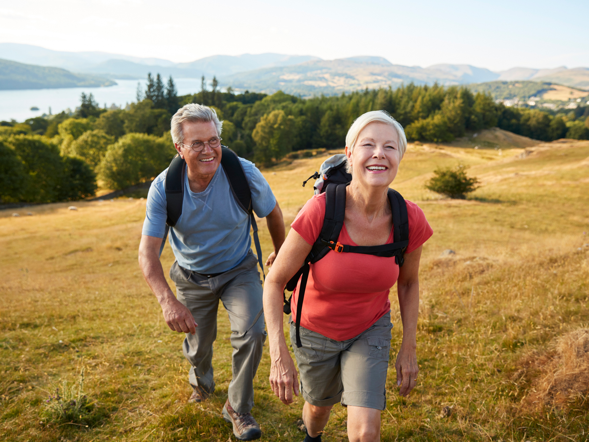 For strength, longevity and happiness, take a hike!