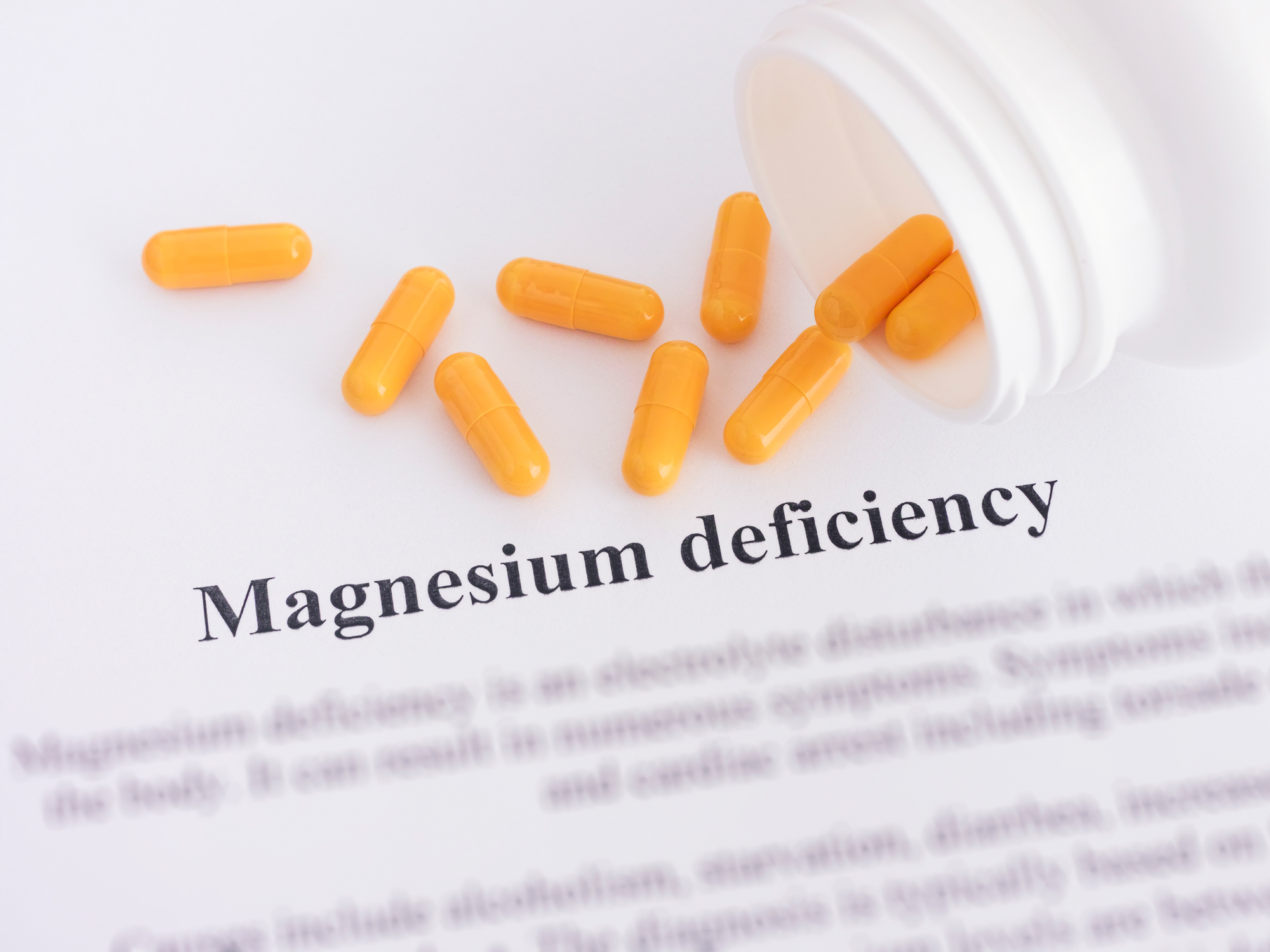 Magnesium deficiency: Symptoms, causes and cures for the silent crisis