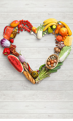 Foods that support heart health