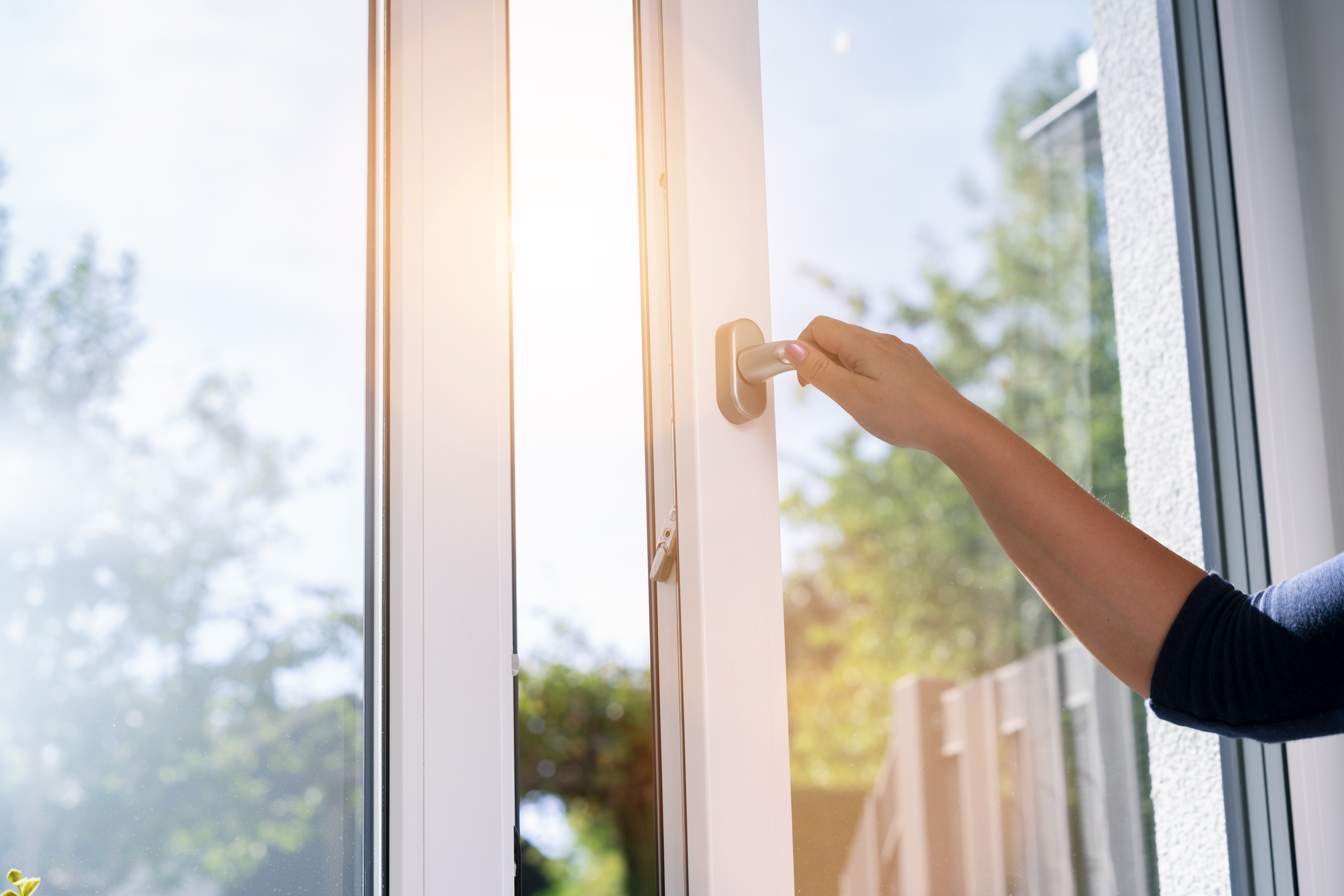 To lower your coronavirus risk at home, open your windows