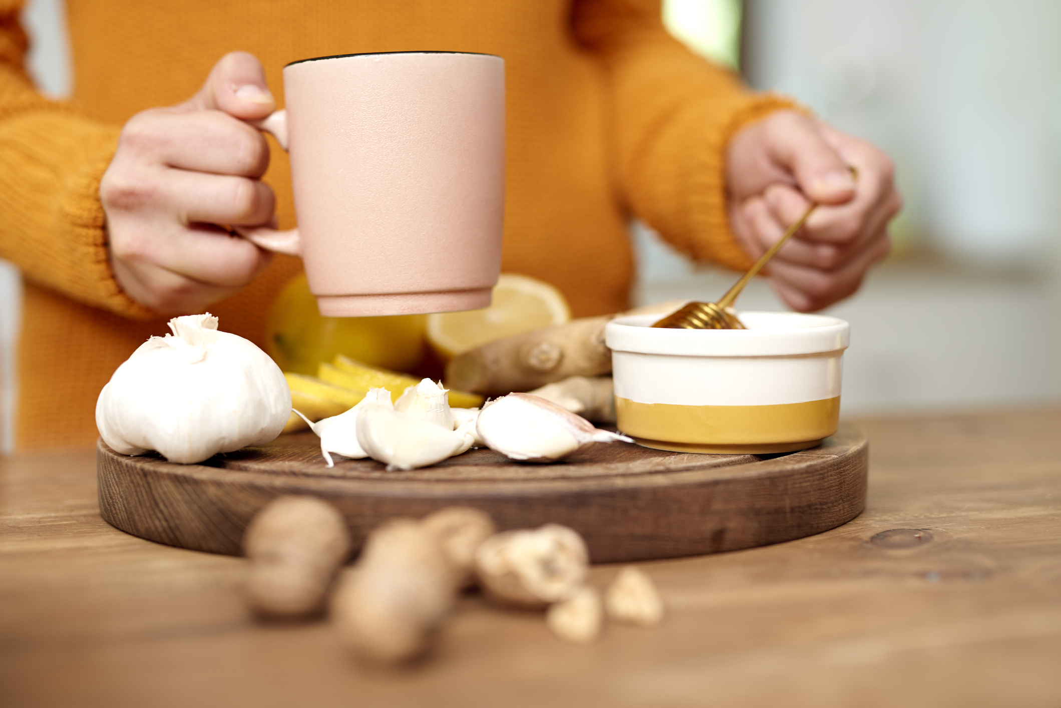 What garlic can do for the common cold