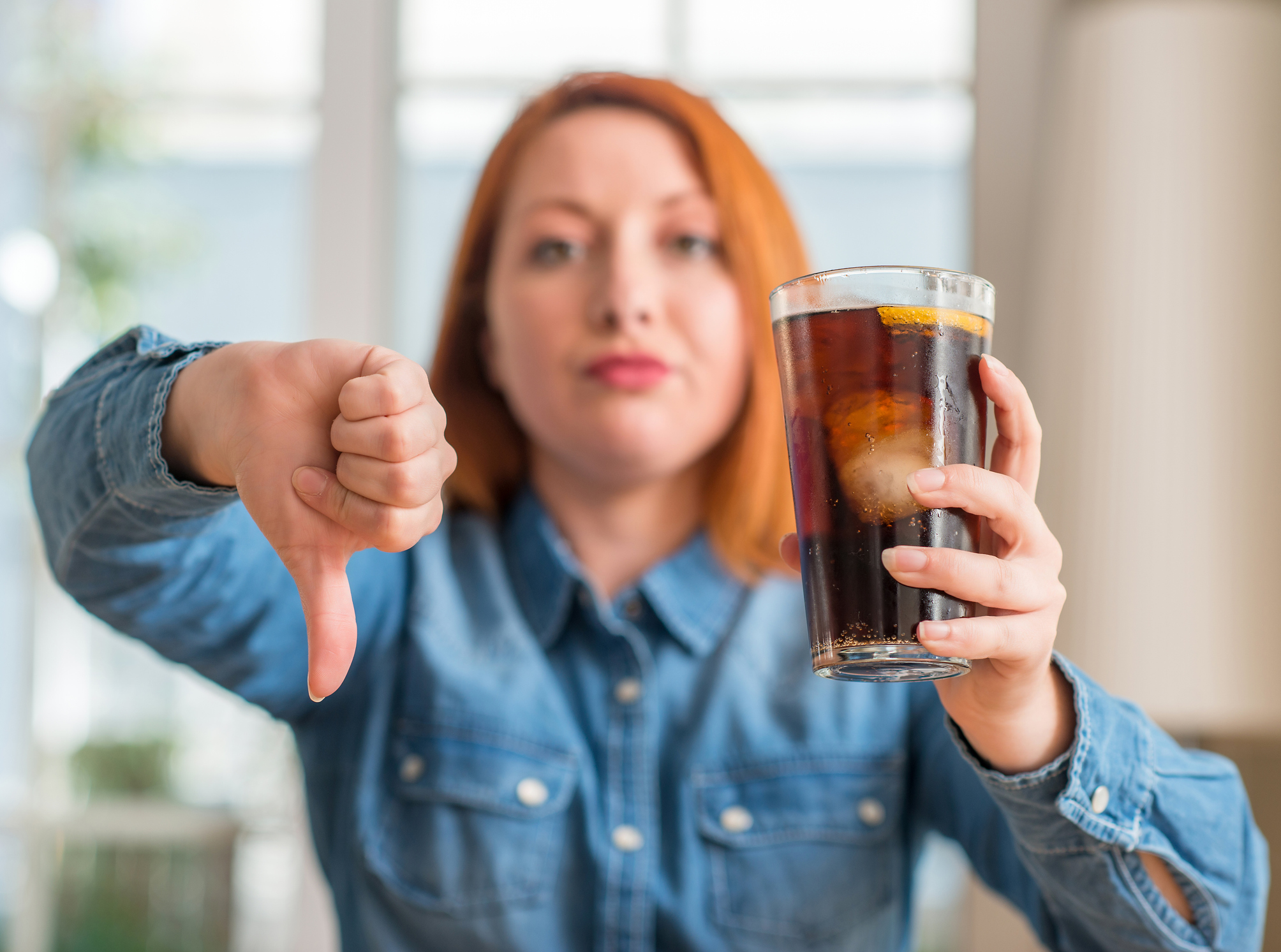 Those sweet drinks you love? They're aging you faster