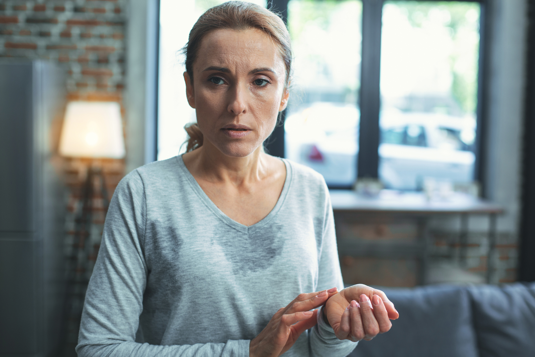 Hot flashes can predict spikes in blood pressure