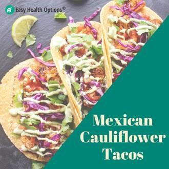 Mexican Spiced Cauliflower Tacos