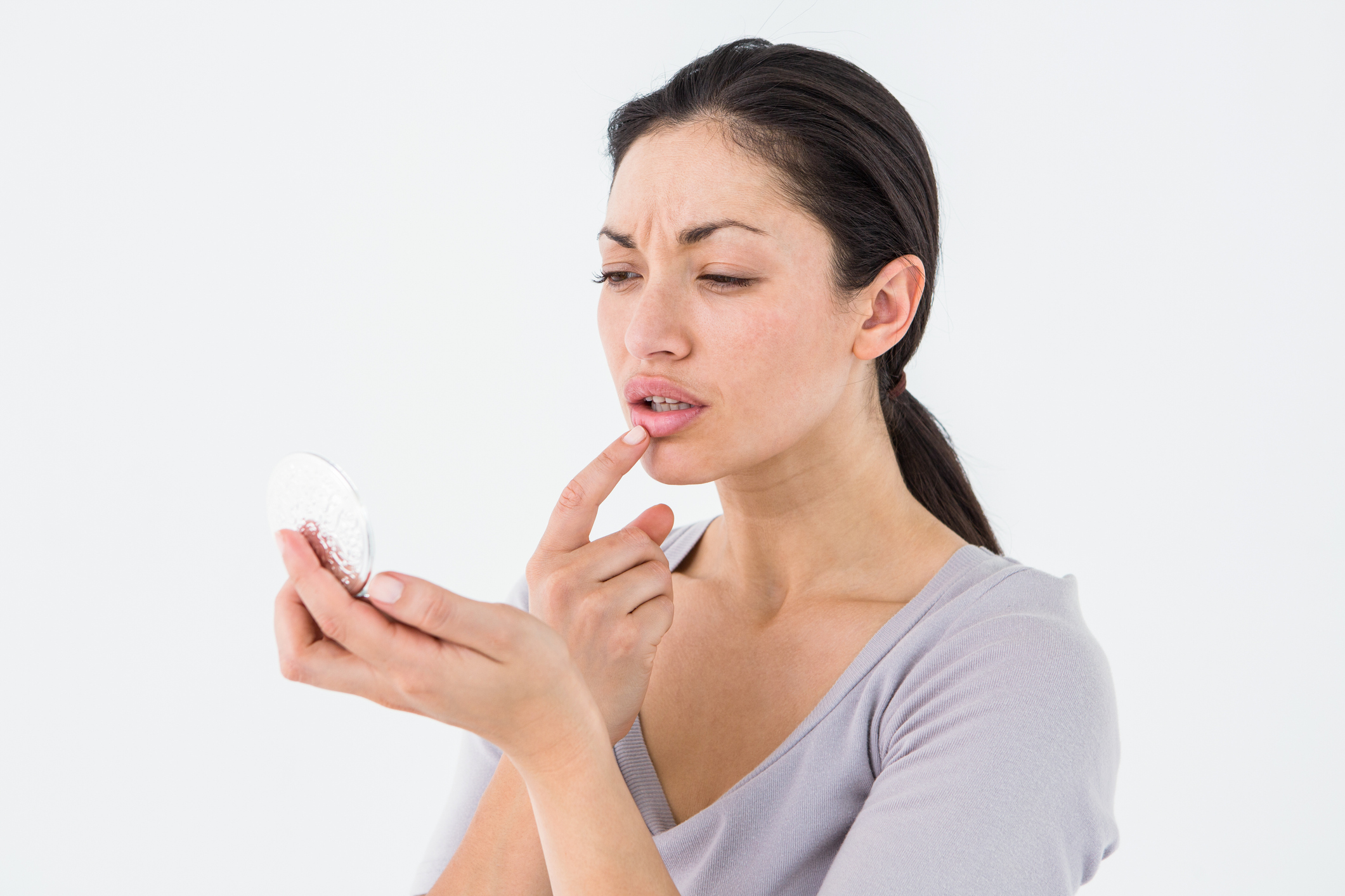 What triggers cold sores to flareup?