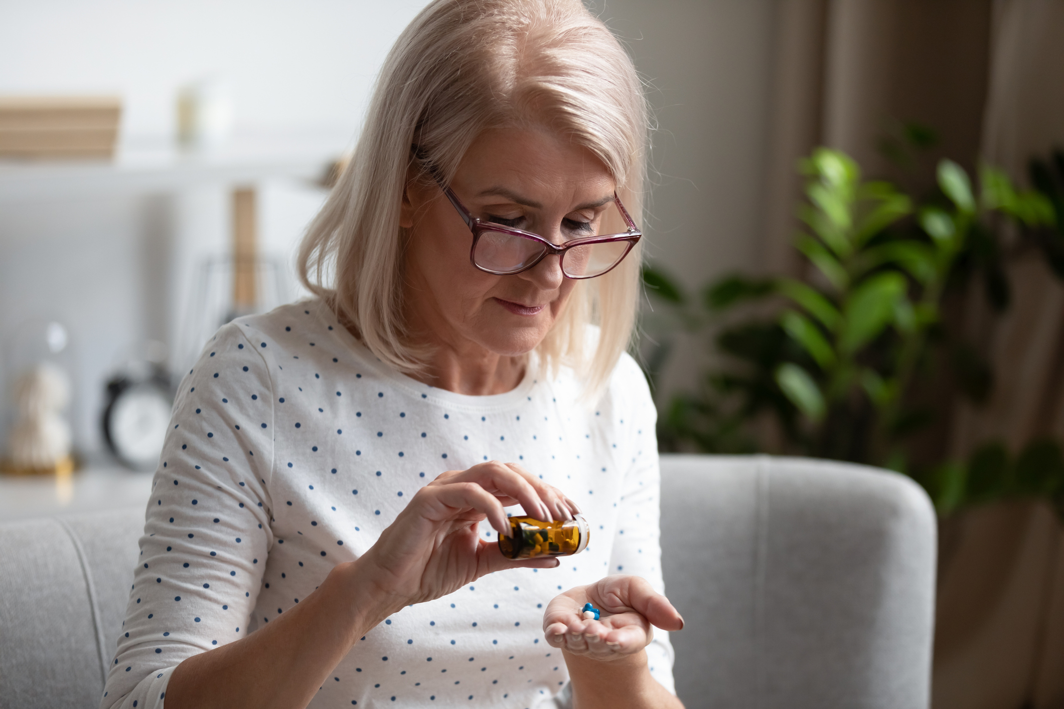 Are you taking one of these medications that increase fall risk?