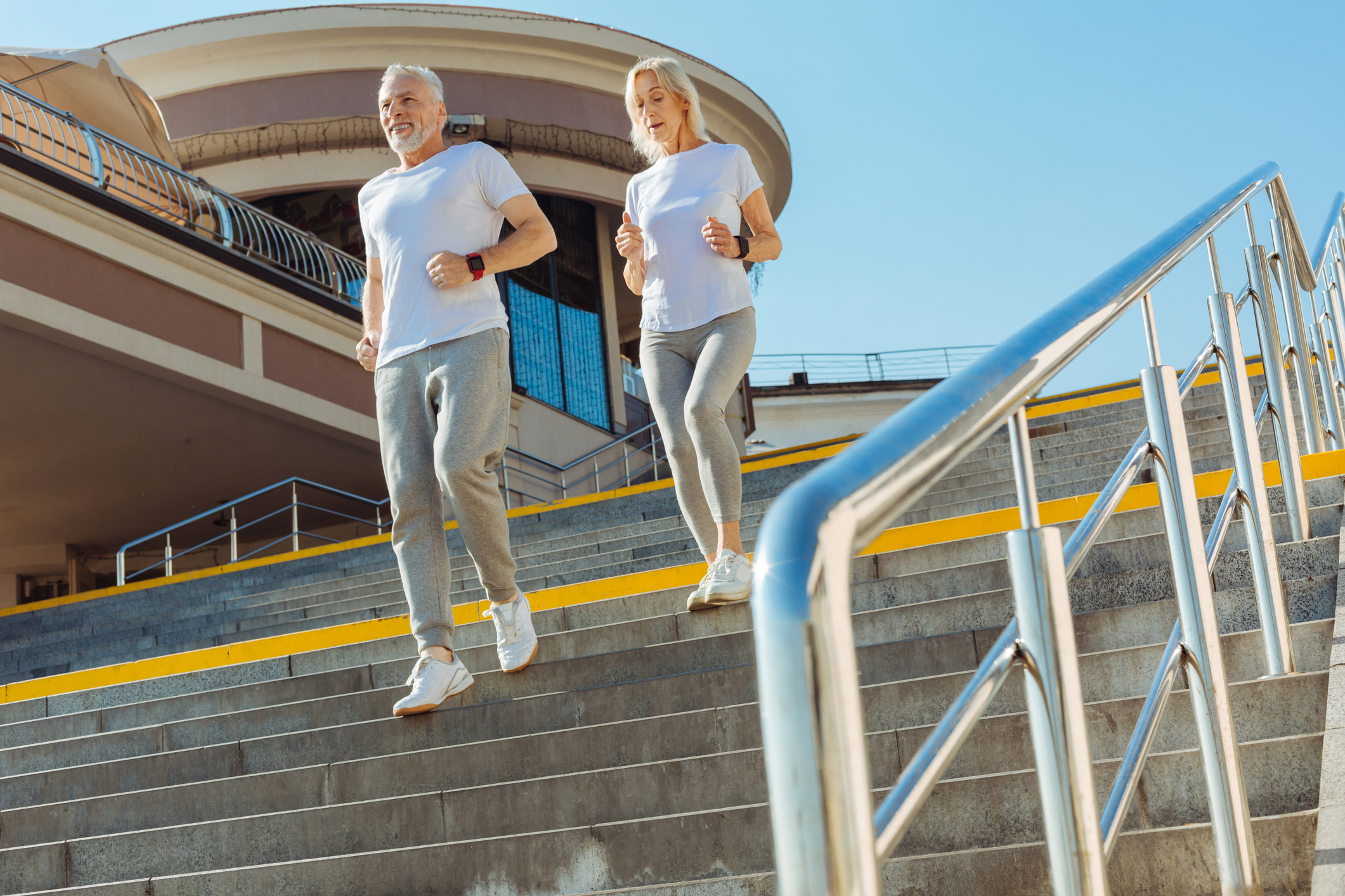 Hitting the stairs: Exercise after heart surgery