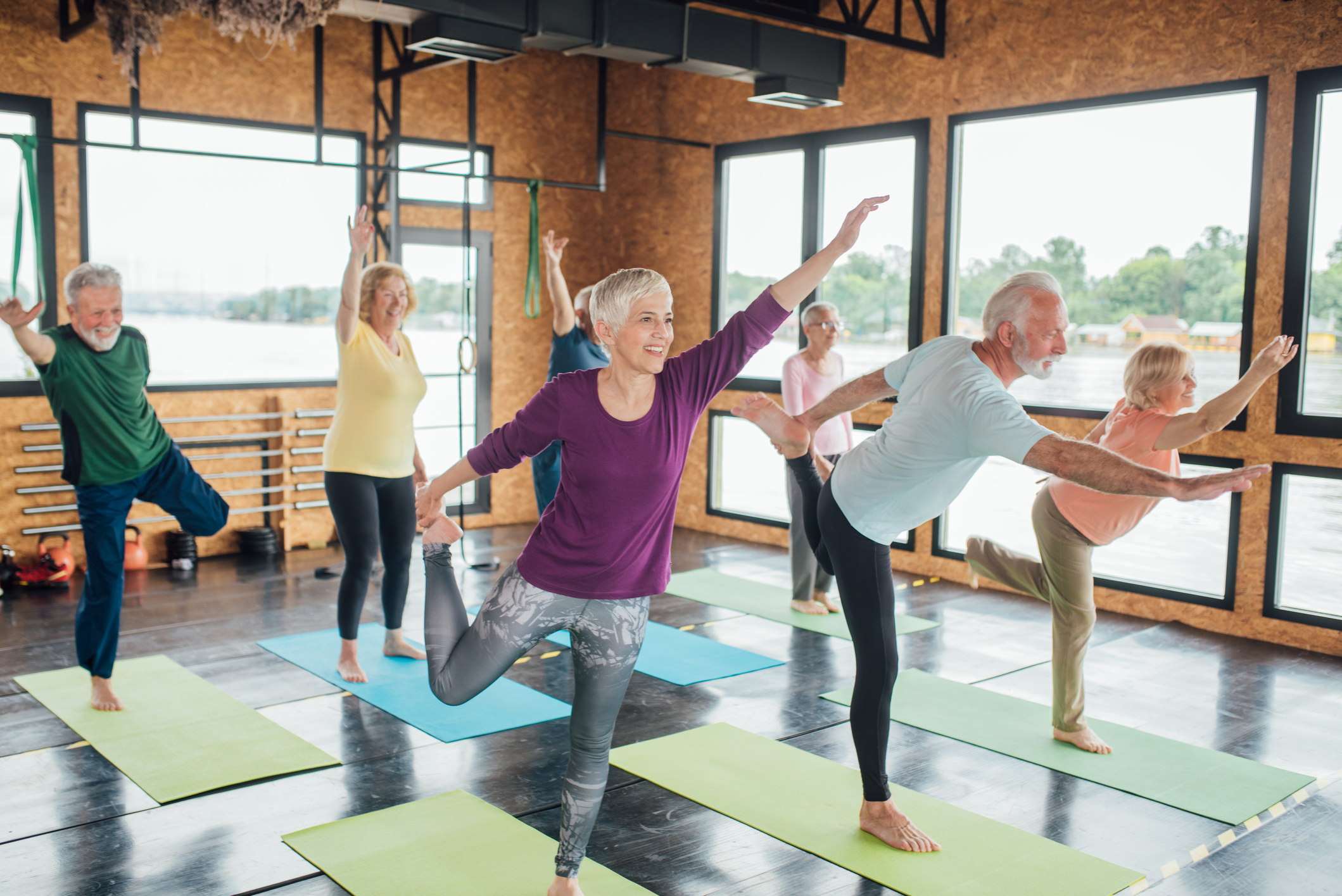Postural muscles: The key to reducing your fall risk
