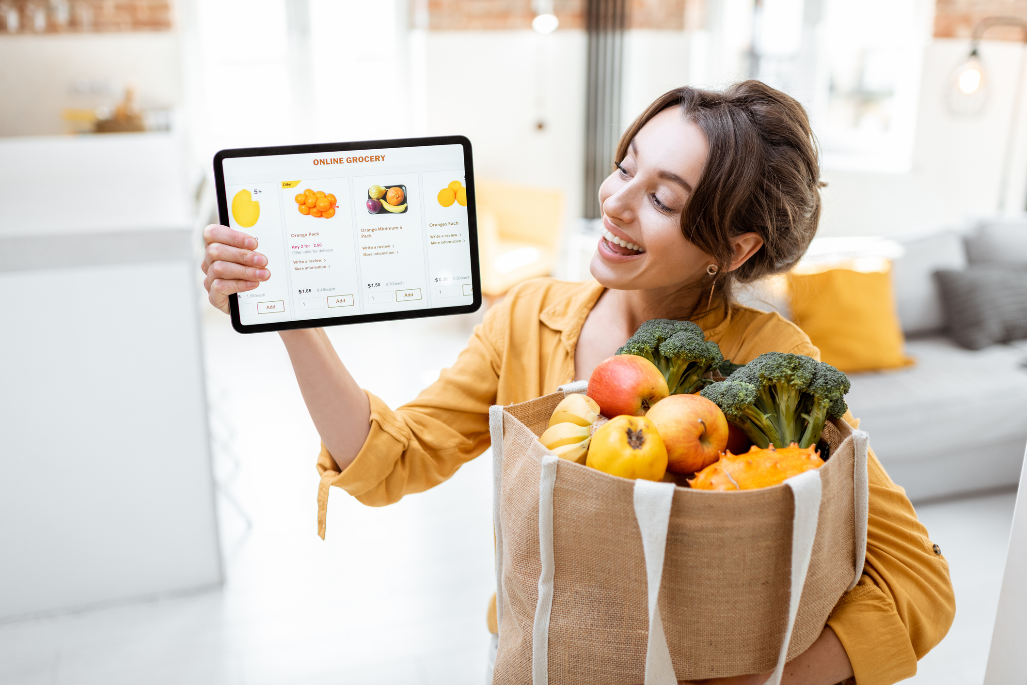 Want to avoid junk food temptation? Get your groceries online