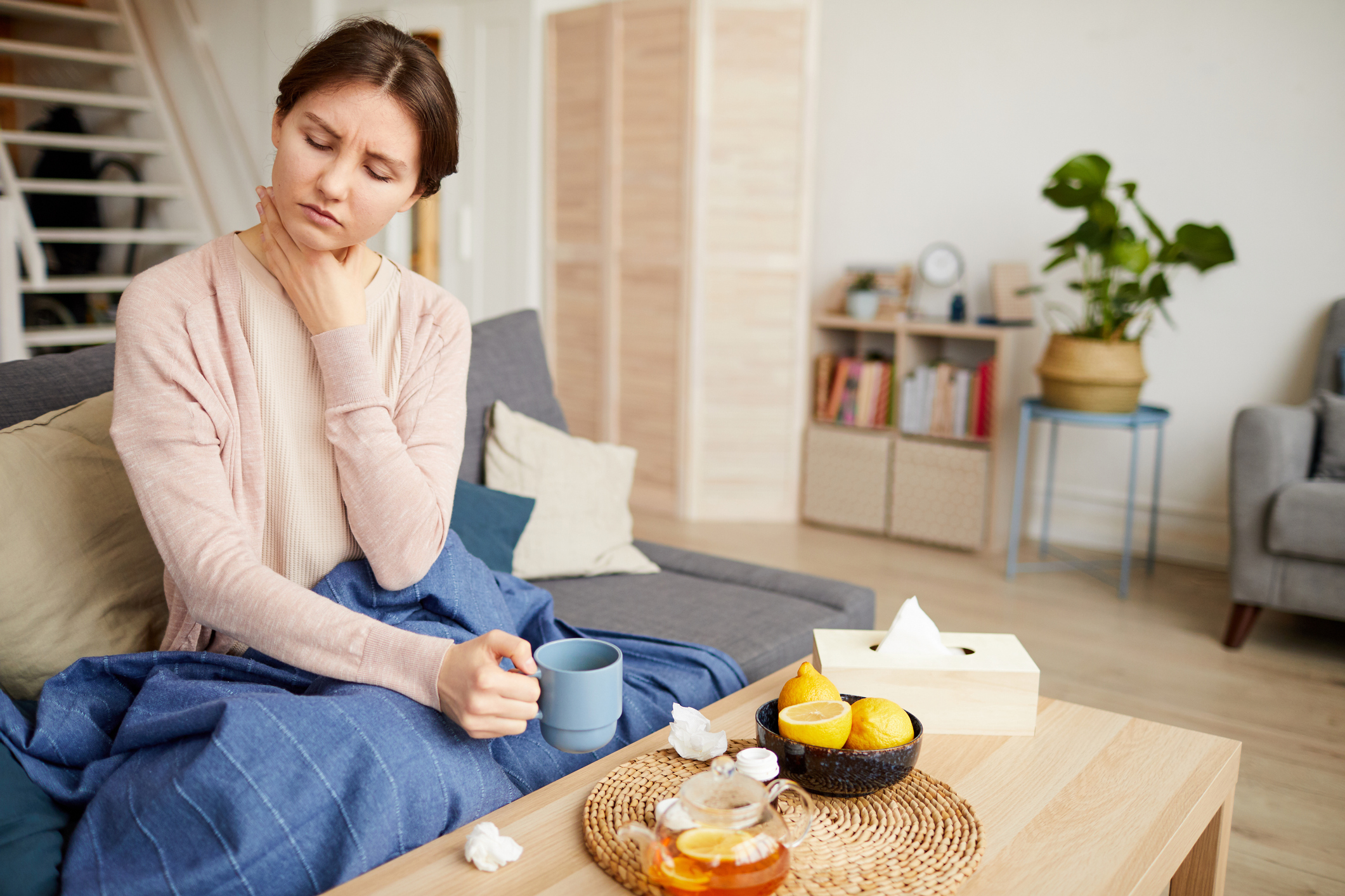 Sore throat? OTC cold remedies won't help and may harm