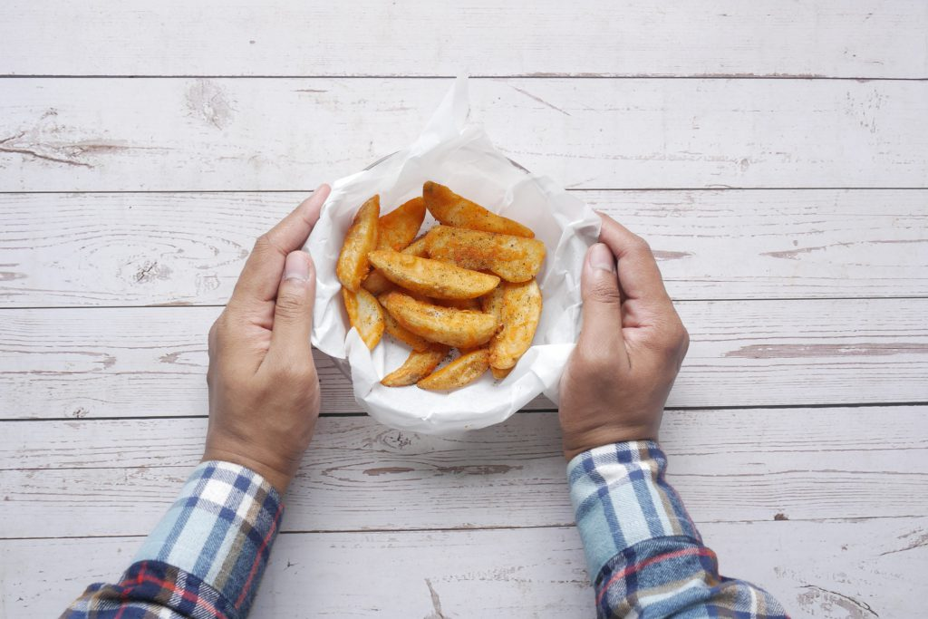 Is it possible to eat French fries and lower blood pressure?