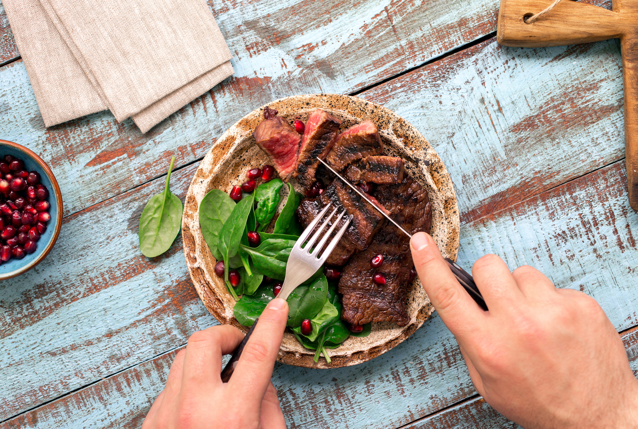 Why red meat causes carcinogenic compounds in the colon