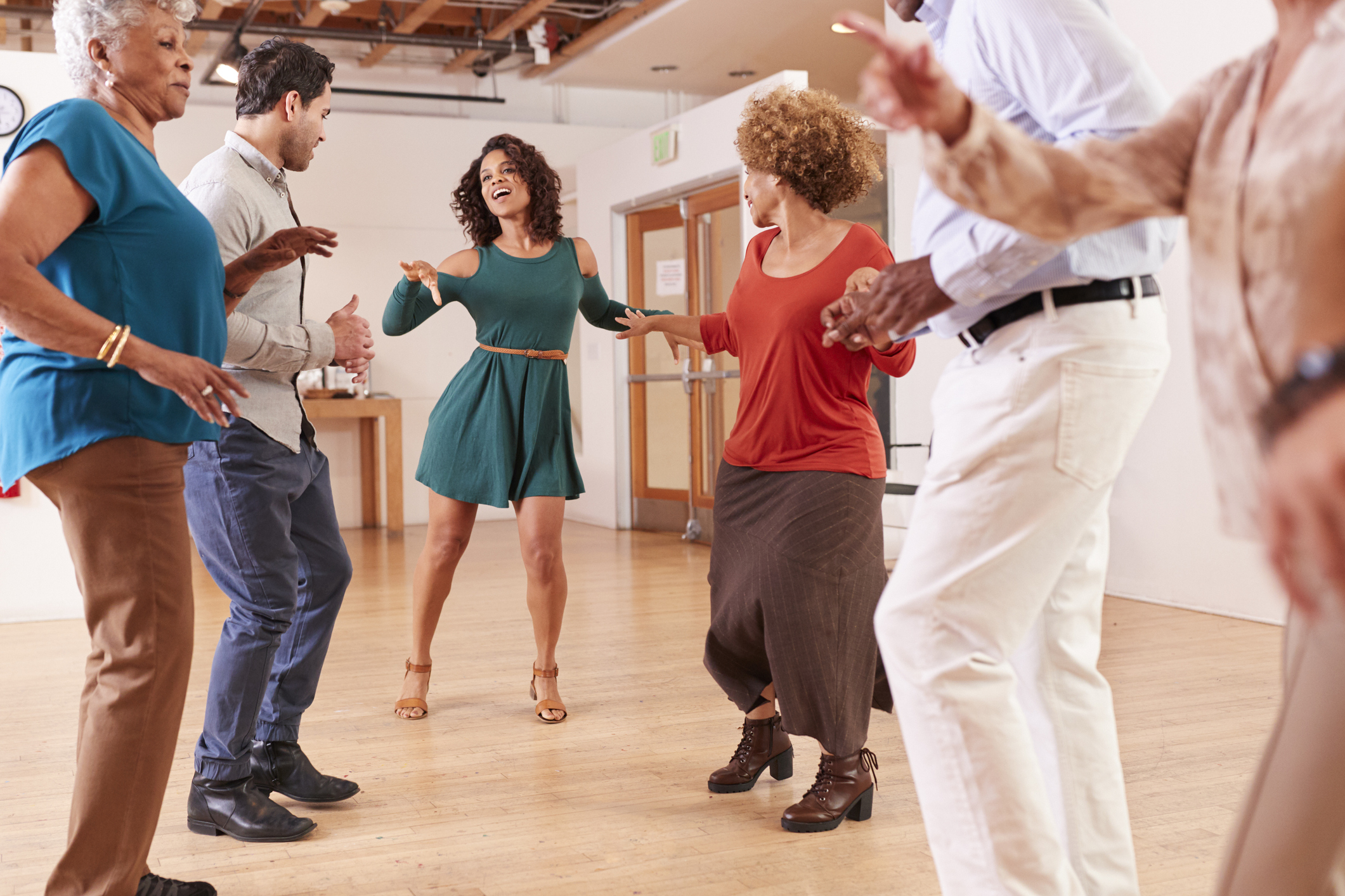Why dancing is the best exercise if you're past menopause