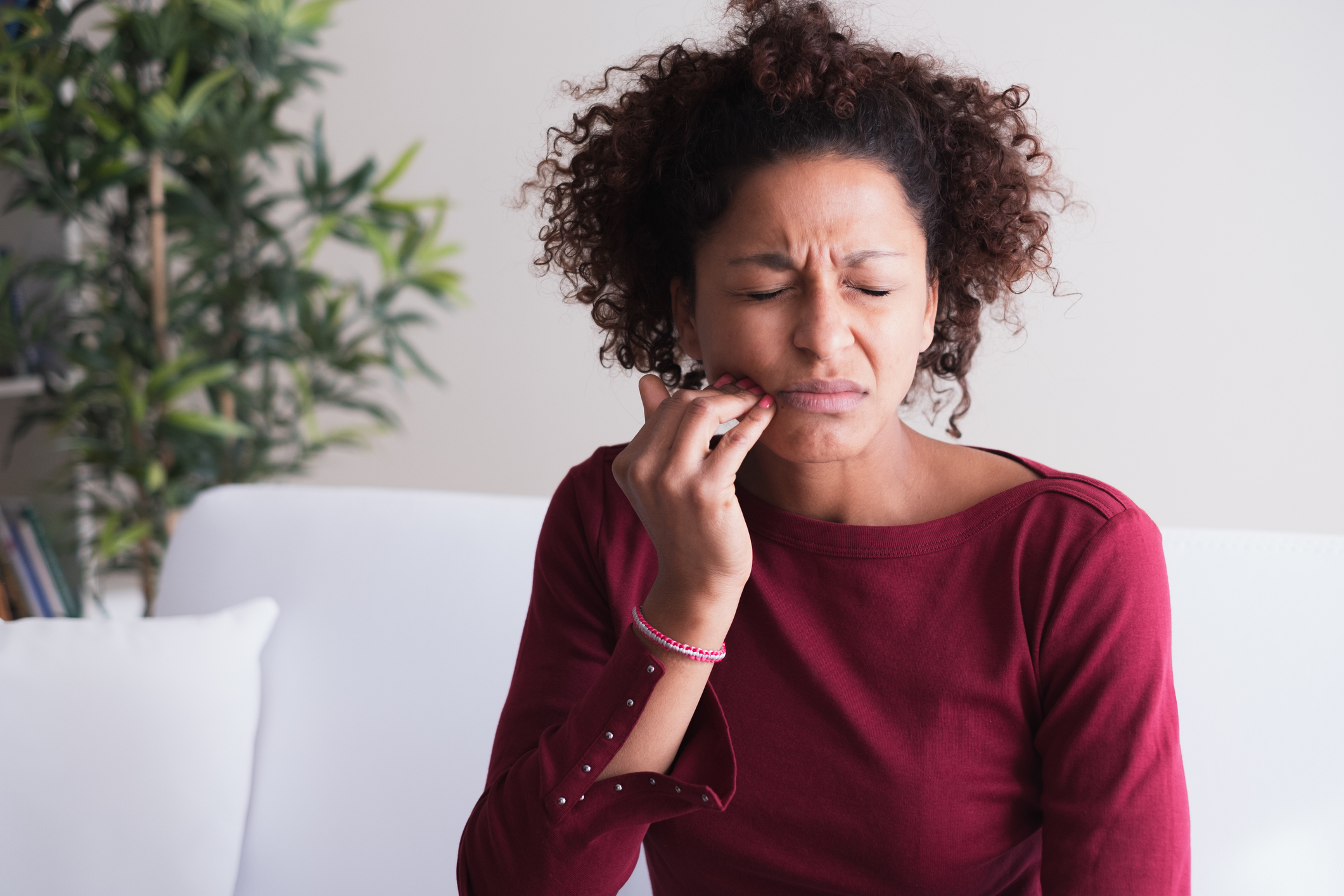 The CBD solution to painful mouth ulcers